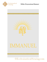 Christmas and Easter Banners for Churches | Dayspring Collection Immanuel