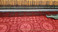 Luther Rose Liturgical Brocade Fabric - Rose | Church Fabrics (All Colors)
