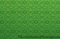 St. Aidan Church Fabric | Liturgical Brocade - Green