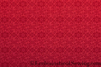St. Aidan Church Fabric | Liturgical Brocade - Red