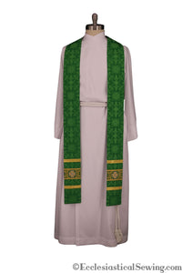Ely Crown Clergy Stole | Pastoral or Priest Stoles | Ecclesiastical Sewing