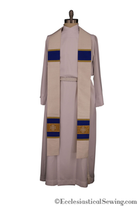 Priest Stole Made of Silk - St. Ignatius of Antioch Collection | Clergy Stoles