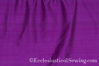 "Dupioni Silk Fabric by the Yard (Violet) 45"" Width"