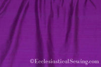 "Dupioni Silk Fabric by the Yard (Deep Purple) 45"" Width"