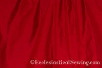 "Dupioni Silk Fabric by the Yard (Red) 45"" Width"