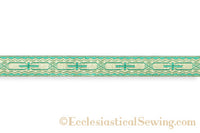 "Ecclesia Lurex Braid 1"" Church Notion"