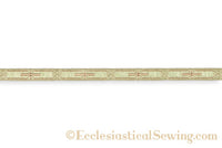 "Ecclesia Lurex Braid 1/2"" Church Notions"