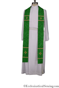 Coventry Priest Stoles (Green) | Clergy Vestments | Priest Vestments and more
