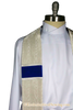 Argenti Cloth of Silver | Handmade Liturgical Stole | Ecclesiastical Sewing