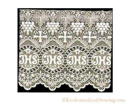 Lace Edging & Insertion Lace for Surplices & Rochets | Trims & Notions