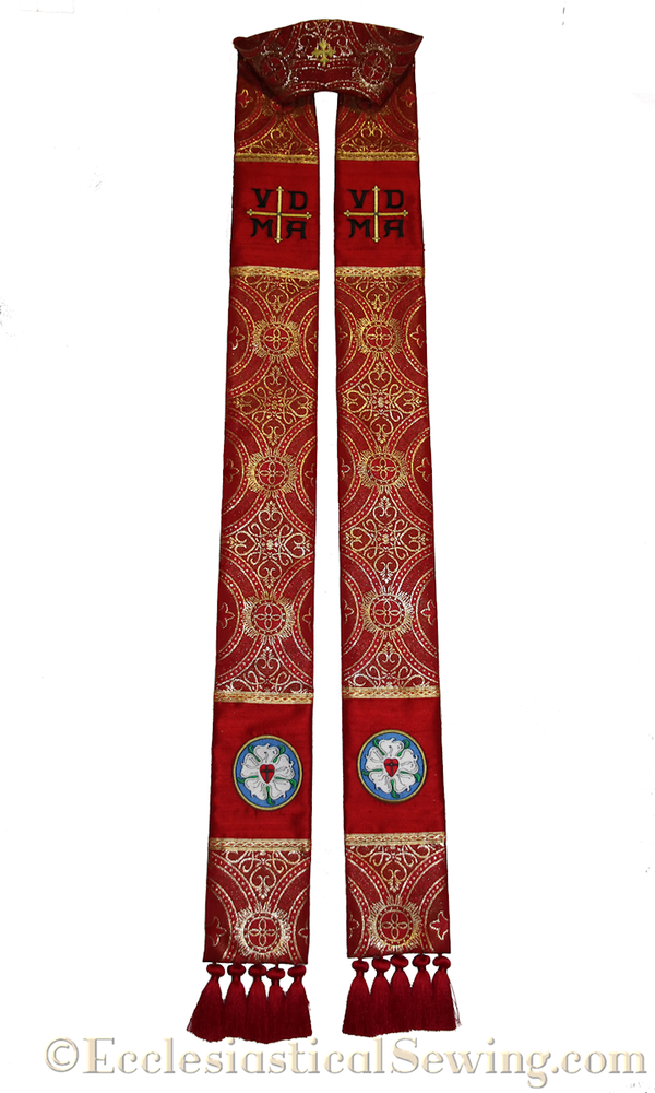 Lutheran Stole to Honor Martin Chemnitz | Clergy Stoles