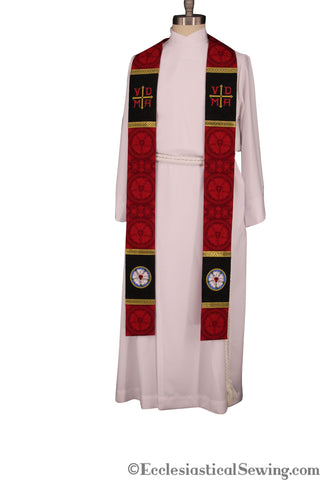 Lutheran Stole Style #1 | Clergy and Priest Stoles