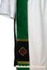 Non Denominational Stole | Alpha Omega Stole for Clergy