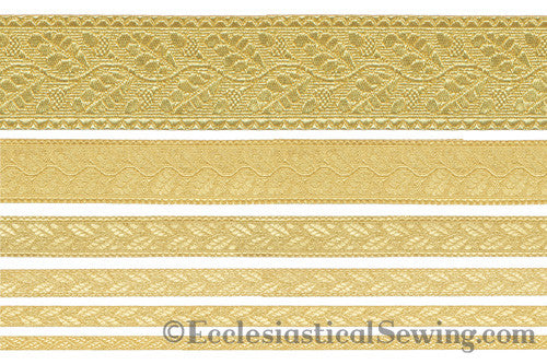 Gold Oak Leaf Braid