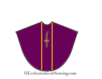 Priest Chasuble Vestment from the Gloria Advent or Lent Collection