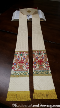 Exeter Tapestry Clergy Stole for Pastors or Priests | Ecclesiastical Sewing