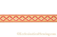 "Quatrefoil Braid 3/4"" Trim"