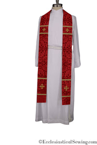 Coventry Priest Stoles (Red) | Clergy Vestments | Priest Vestments and more