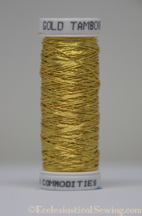 Tambour Embroidery Thread in Gold | Tambour Embroidery