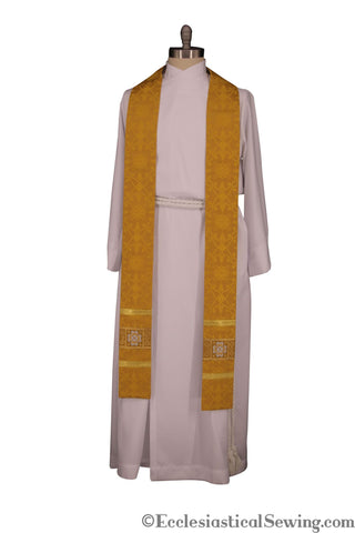 Ely Crown Priest/Pastor Stole (QS)