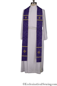Coventry Priest Stoles (Violet) | Clergy Vestments | Priest Vestments and more