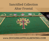 Sanctified Frontal with Attached Superfrontal Church Vestments
