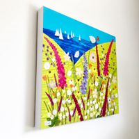 Giclee Canvas Print By Jackie Gale, Textile Artist