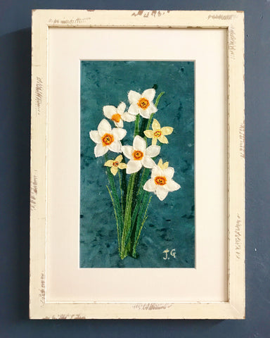 Narcissi by Jackie Gale