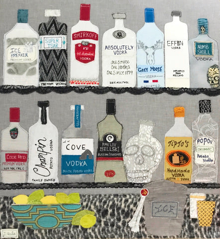 Vodka Art By Jackie Gale
