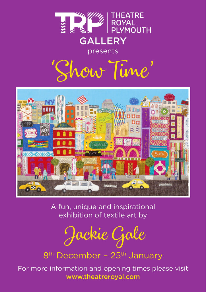 Show Time Textile Art Exhibition by Jackie Gale
