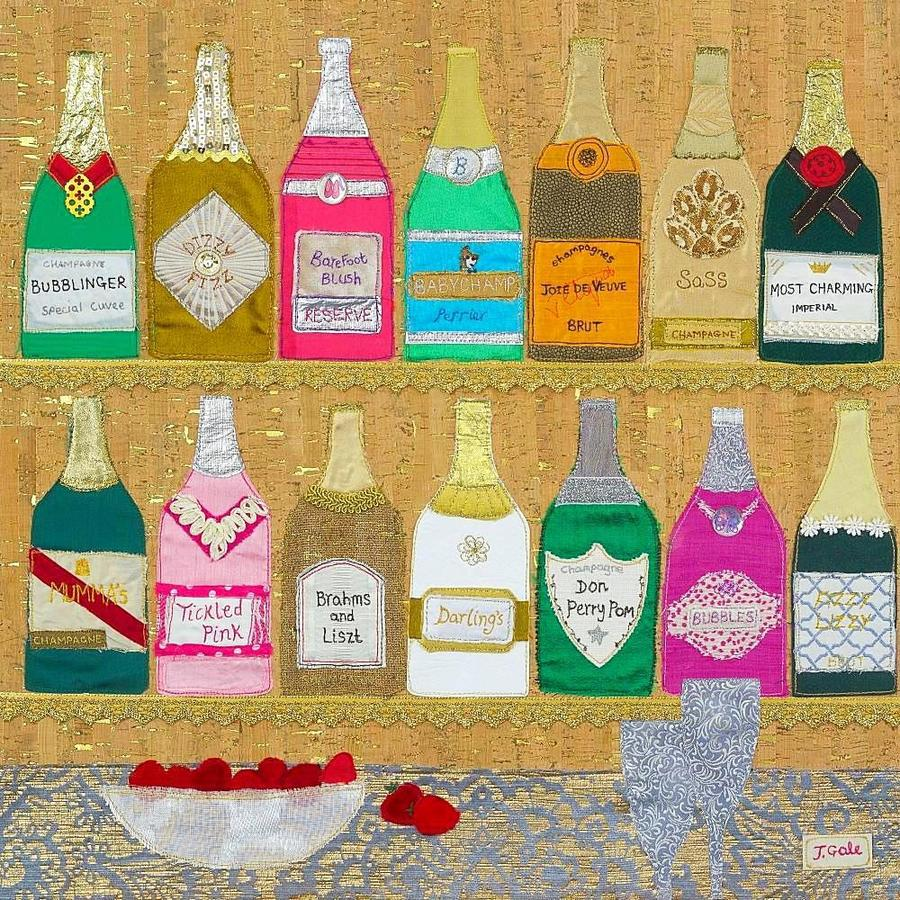 'Champers' Greeting Cards (Pack of 6)