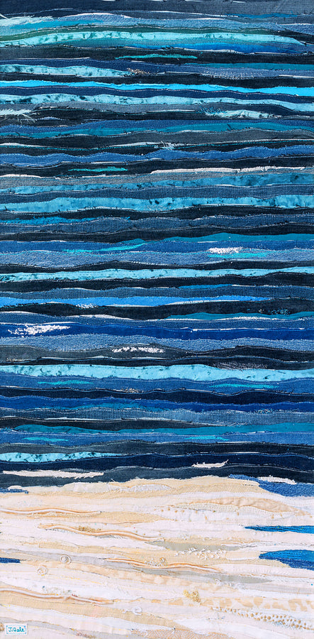 The Knowing Sea By Jackie Gale, Textile Artist