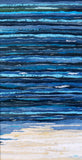 The Knowing Sea II by Jackie Gale  Textile Art