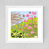 A Day In May By Textile Artist, Jackie Gale (Limited Edition Print)