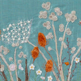 Close Up Of Burgh Island Textile Art, Wintry Style