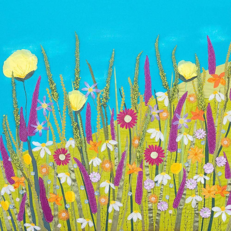 Summer Floral Art By Jackie Gale