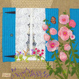 'Chez Nous' - Brittany, France.  Art  Picture Print (Limited Edition) - Jackie Gale, Textile Artist