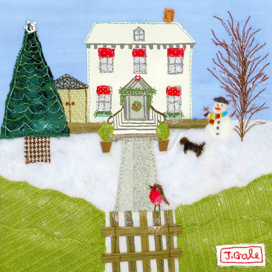 'Home For Christmas' Greeting Cards (Pack of 6)