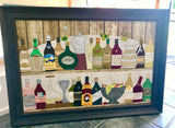 Time To Wine! - Original Textile Artwork