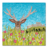 Henry - Windsor Stag - Textile Art Print - Limited Edition