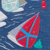 Jibe Ho, FastNet Race, Textile Art Limited Edition Print