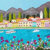 Lake Como By Jackie Gale Textile Artist