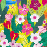 Tropical Floral Textile Artwork, Jackie Gale