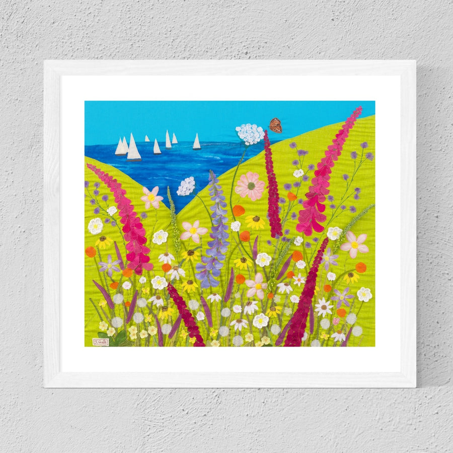 Summers Day Art - Limited Edition Print By Jackie Gale