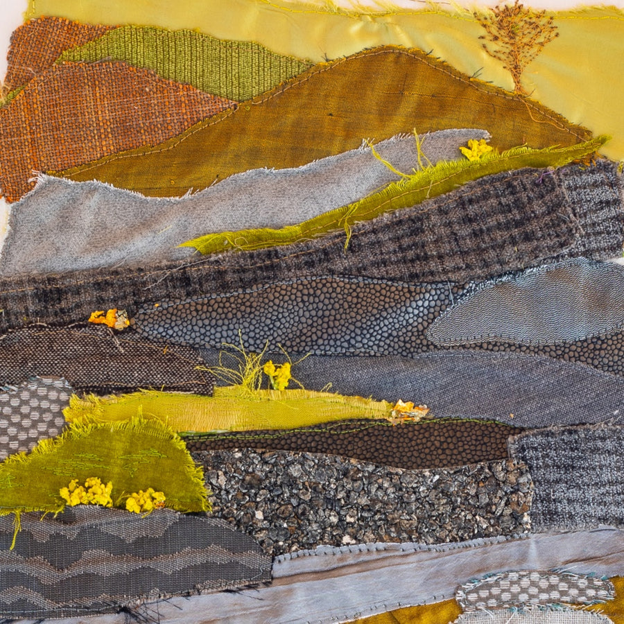 Tor De Moor - Dartmoor Original Textile Artwork (SOLD)