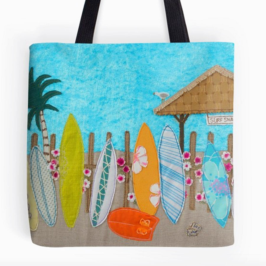 Waiting For A Wave Tote Bag
