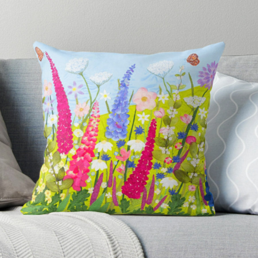 Wild Summer Cushion