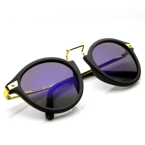 Vintage Horned Rim Sunglasses