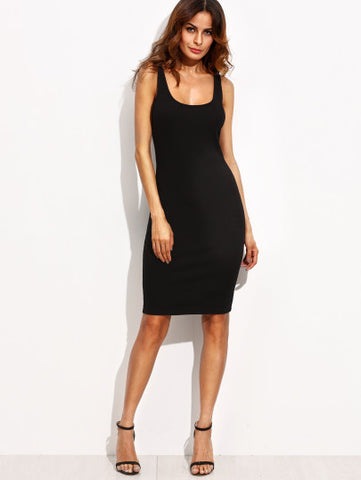 Little Black Dress Tank Top Sleeveless Dress