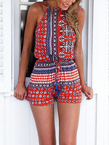 Bohemian Style Playsuit
